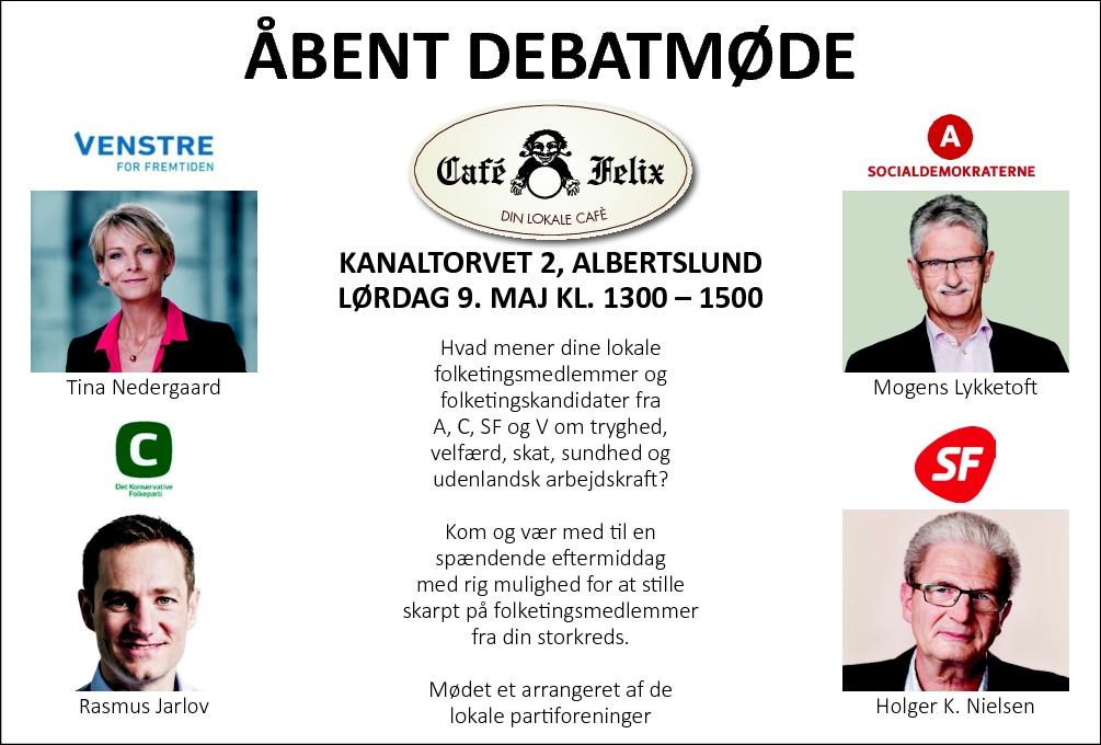 Debatmøde Albertslund 9 maj 2015